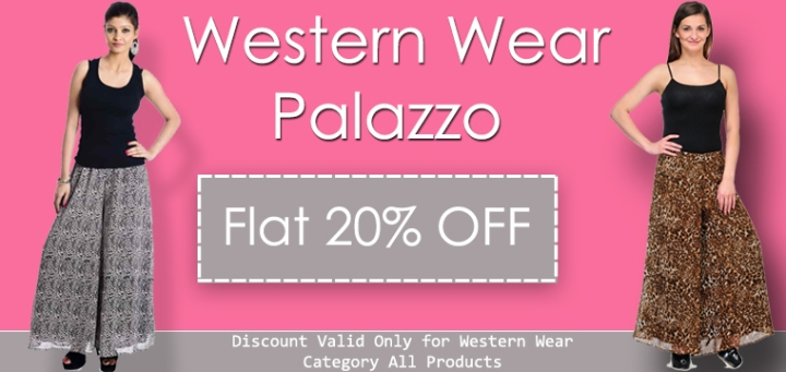 f27e28b4717 western wear palazzo pants online shopping in lowest prices with 20%  discount offer sale