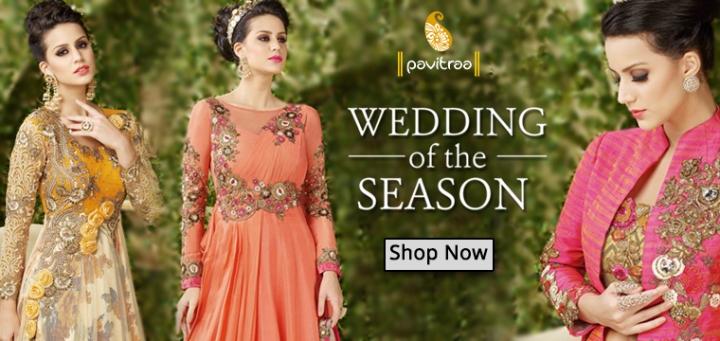 Formal Wedding Gowns and Anarkali Dresses for Brides – Ethnic ...